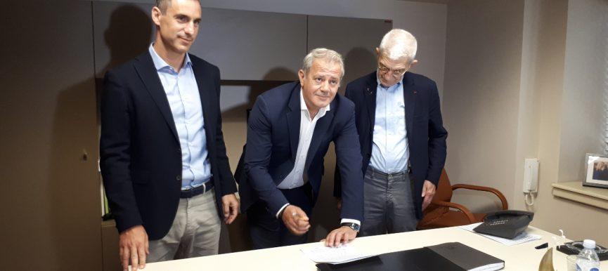 Υπεγράφη η σύμβαση για τη μελέτη της νέας ΜΕΑ Ανατολικής Θεσσαλονίκης