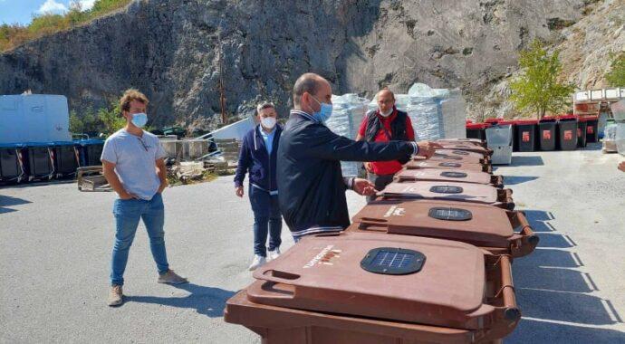 «Έξυπνους» κάδους βιοαποβλήτων απέκτησε ο Δήμος Κοζάνης: Συλλέγουν & καταγράφουν δεδομένα για τη θερμοκρασία, τη σύνθεση και την πληρότητα του κάθε κάδου