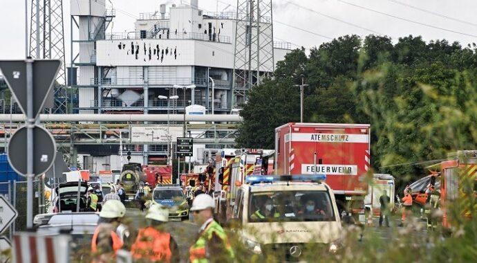 Έκρηξη σε μονάδα επεξεργασίας απορριμμάτων στο Λεβερκούζεν